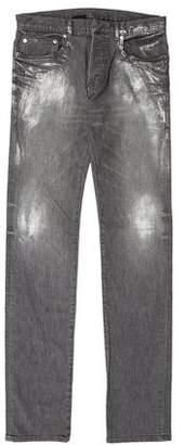 Christian Dior Distressed Slim Jeans w/ Tags