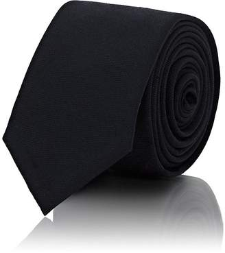 Thom Browne Men's Dog-Embroidered Wool Necktie