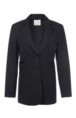 Tibi Serge Suiting Cut Out Blazer