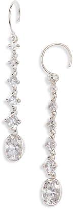Nadri Issa Cubic Zirconia Linear Drop Earrings