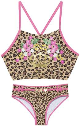 Juicy Couture Juicy Animal Two Piece Swimsuit for Girls