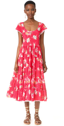 Athena Procopiou Gypsy Soul Romantic Dress $740 thestylecure.com