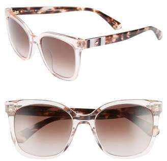 Kate Spade Kiya 53mm Sunglasses
