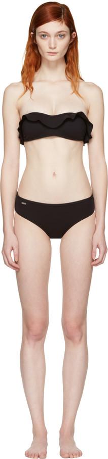 Fendi Black Magnetic Wave Bikini