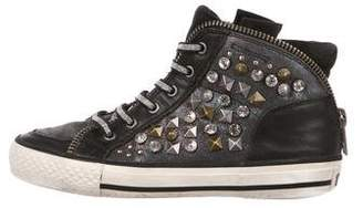 Ash Girls' Embellished High-Top Sneakers