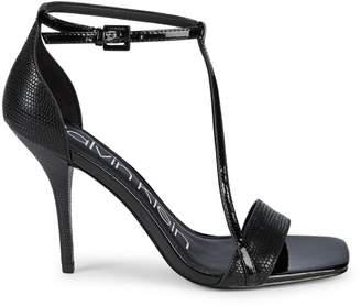 Calvin Klein Janayln Patent d'Orsay Sandals