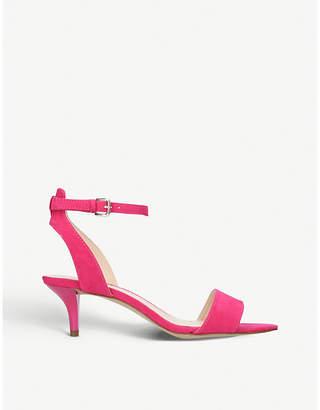 Nine West Lesia open-toe faux-suede sandals