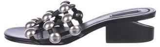 Alexander Wang Leather Embellished Sandals