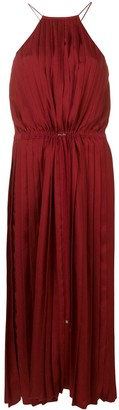 Tibi Mendini twill pleated dress