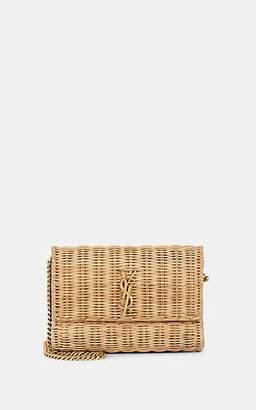 Saint Laurent Women's Monogram Small Wicker Chain Bag - Neutral
