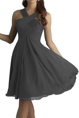 VaniaDress Women Sleeveless Short A Line Evening Dress V212LF US