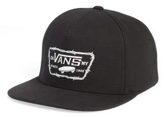 Vans Full Patch Barbed Logo Cap