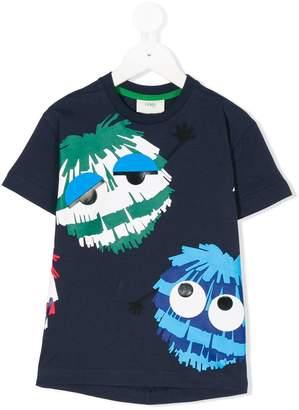 Fendi printed short-sleeved T-shirt