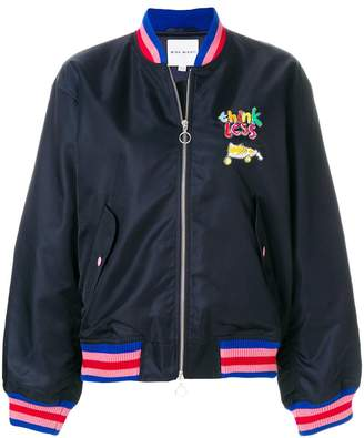 Mira Mikati Think Less bomber jacket