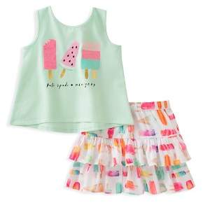 Kate Spade Girls' Ice Pop Tank & Skirt Set - Baby