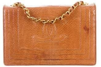 Chanel Lizard CC Flap Bag