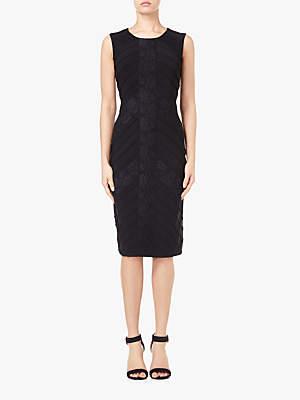 Matte Jersey Sheath Dress, Black