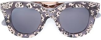 Cutler & Gross leopard print sunglasses