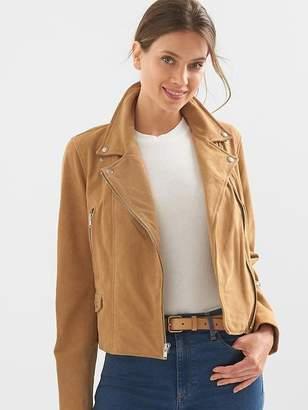 Gap Suede moto jacket