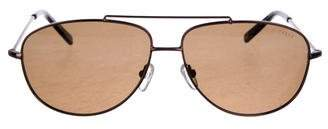 Ted Baker Aviator Tinted Sunglasses