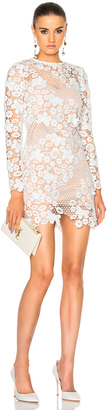 self-portrait 3D Floral Mini Dress $445 thestylecure.com