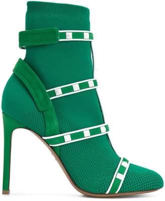 Valentino Rockstud Bodytech boots
