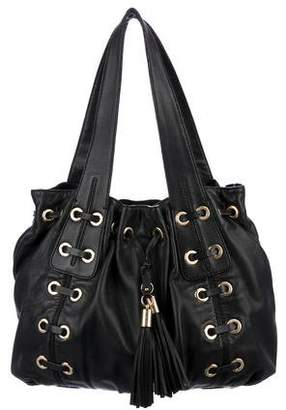 MICHAEL Michael Kors Leather Drawstring Tote