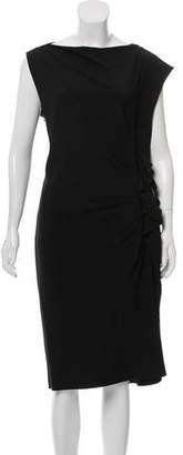 Ungaro Ruffled Midi Dress