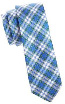 Lauren Ralph Lauren Boy's Tartan Silk Tie