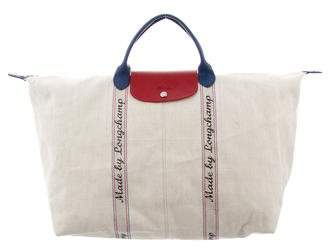 Longchamp Made By Canvas Tote