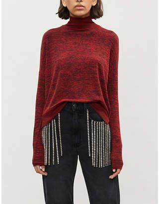 Rag & Bone Bowery high-neck marled knitted jumper