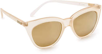 Le Specs Half Moon Magic Polarized Sunglasses $69 thestylecure.com