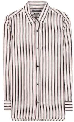 Isabel Marant Striped ramie and silk shirt