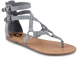 G by GUESS Hobey Gladiator Sandal $49 thestylecure.com
