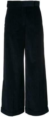 Max Mara 'S high-waisted corduroy palazzo pants