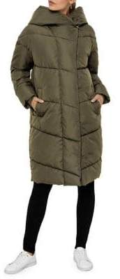 Noisy May Oversized Long Puffer Jacket