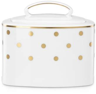 Kate Spade Larabee Road Gold Sugar Bowl