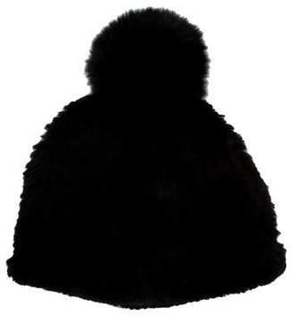 956da8cdf97 Adrienne Landau Fur Pom-Pom Hat