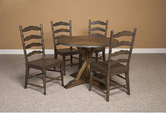 Gracie Oaks Burnsfield Wood Dining Table