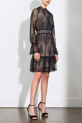 Shoshanna Floral Lace Dress