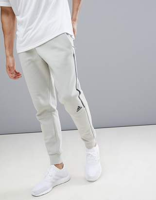 adidas ZNE Striker Pants In Beige CW0140