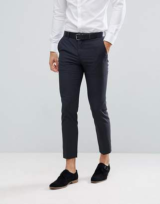 Jack and Jones Slim Suit Pants In Texture
