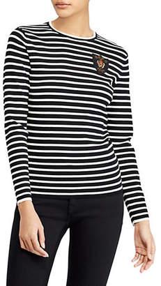 Polo Ralph Lauren Crest Long-Sleeve Top