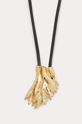 Annelise Michelson Algae sea leaf pendant