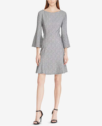 American Living Tweed Bell-Sleeve Dress