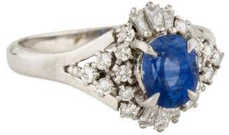 Ring Diamond & Sapphire