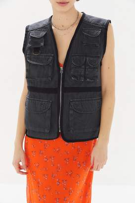 Urban Outfitters Clyde Zip-Front Utility Vest
