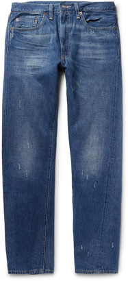 Levi's Vintage Clothing 1954 501 Slim-Fit Selvedge Denim Jeans $225 thestylecure.com