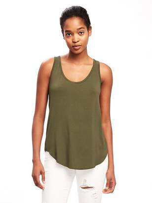 Old Navy Luxe Curved-Hem Tank for Women
