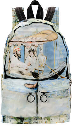 Off-White Off White Men's Impressionist Lake Backpack
